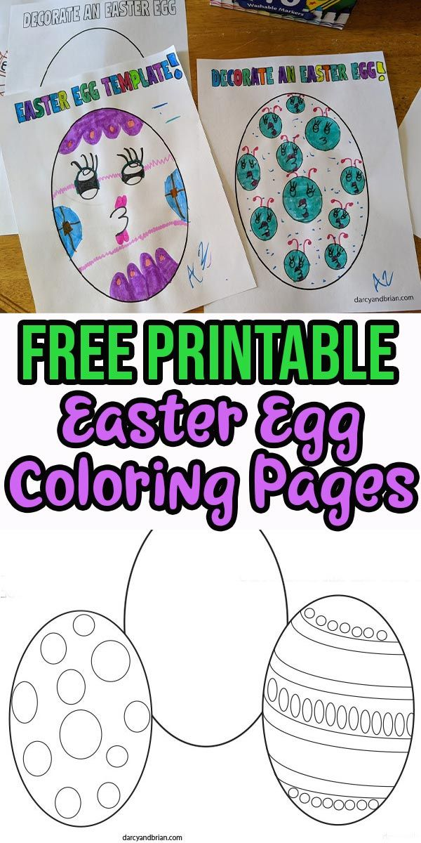 Printable Easter Egg Coloring Pages For Kids Easter Egg Coloring Pages Coloring Easter Eggs Coloring Eggs