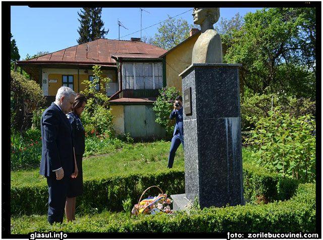 Prima vizita oficiala a lui ANGEL TÎLVĂR la Cernauti, foto: zorilebucovinei.com