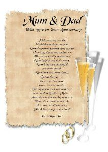 50th Wedding Anniversary Poems Related Keywords & Suggestions ...