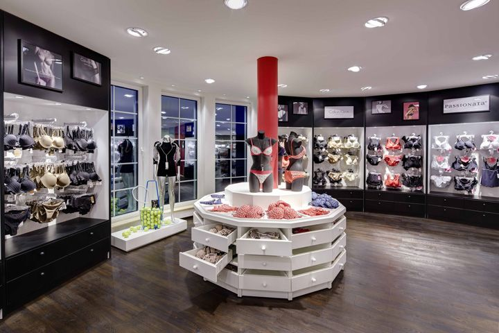 TC Buckenmaier lingerie department by Heikaus, Crailsheim   Germany store design