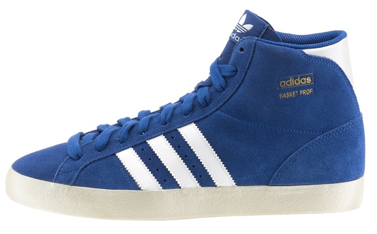 adidas Basket Profi Suede è una scarpa uomo in suede con suola in gomma vulcanizzata.    Prezzo: 100,00€    SHOP ONLINE: http://www.aw-lab.com/shop/adidas-basket-profi/adidas-basket-profi-suede-8030413
