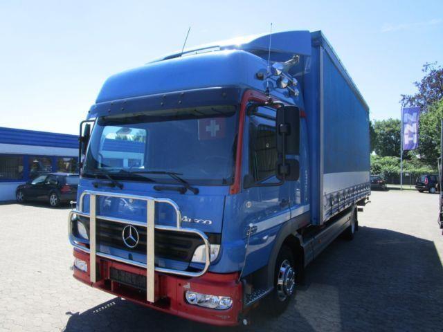 Mercedes-Benz ATEGO 823 L STANDKLIMA LBW, LKW Pritsche/Plane in Deensen, gebraucht kaufen bei AutoScout24 Trucks