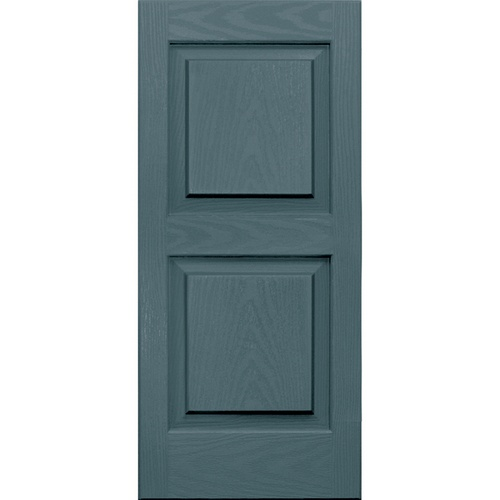 Raised Panel Siding : Vantage pack wedgewood blue raised panel vinyl exterior