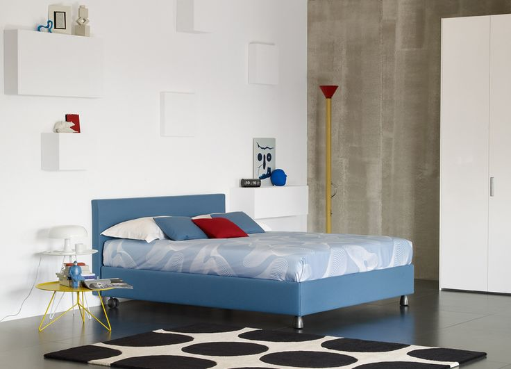 Notturno http://www.flou.it/it/products/beds/notturno_9 #flou #bed #beds #colors #spring