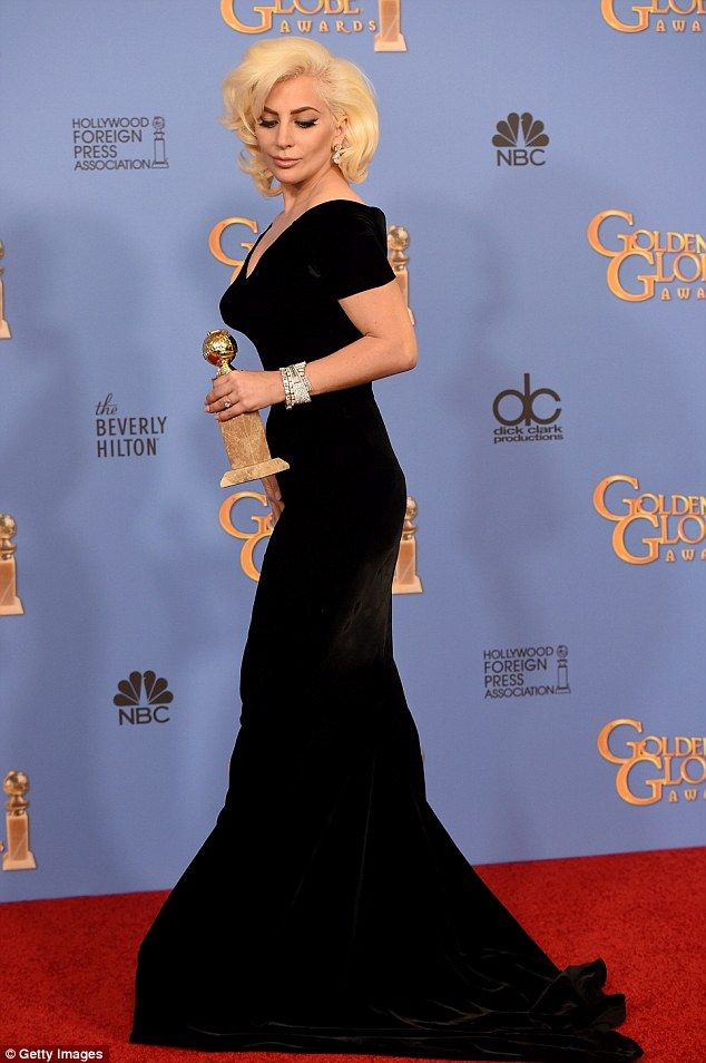 Lady Gaga - Golden Globes red carpet - January 2016