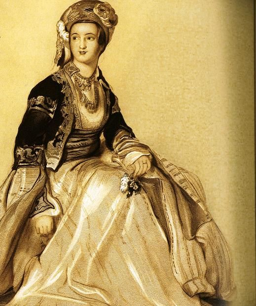 ottoman empire women's dress - Google Search