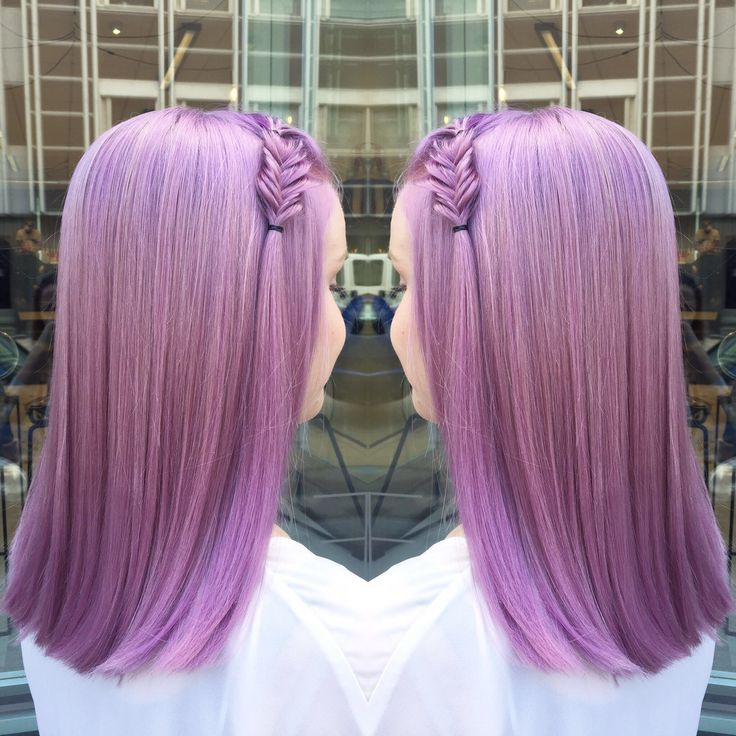 Pinky lavender hair. Pastel hair with Kevin.Murphy color.me