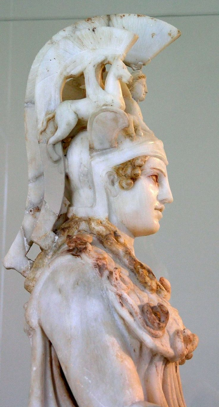 Athena Varvakeion ~ National Archaeological Museum in Athens, Greece