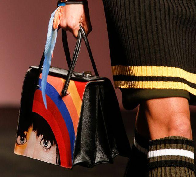 Prada Purses and Handbags flower 2014 | Prada's Bags are Artistic, Feminist for…