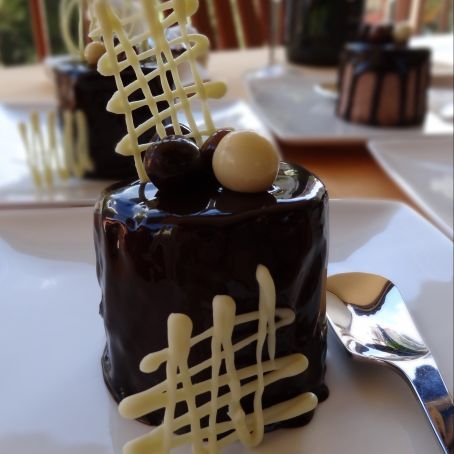 Mini+tartas+de+Mousse+de+chocolate