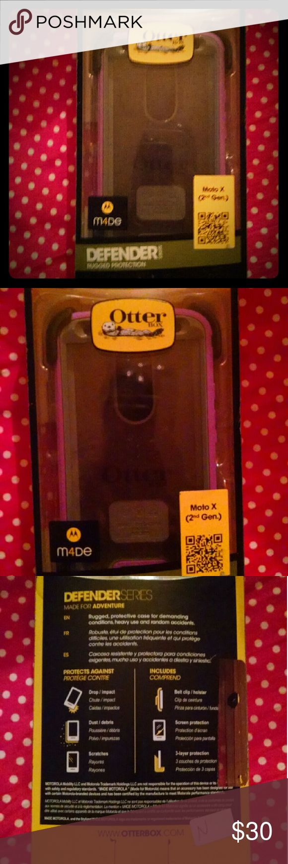 OtterBox OtterBox defender series for Moto X second generation OtterBox Accessories Phone Cases