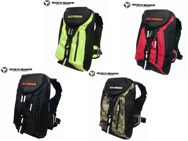 Rock biker off-road motorcycle backpack motorcycle ride waterproof helmet bag vest breast pad backpack #Motorcycle Backpacks