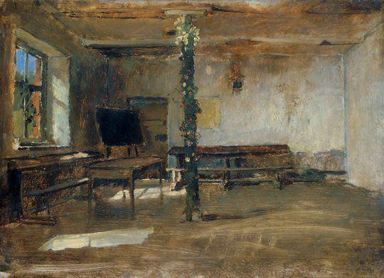 Munkácsy Mihály (1844-1900) - Tanterem