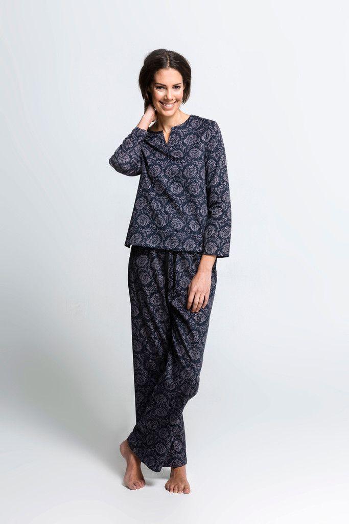Moonbird Organic Cotton Dahlia Pyjamas