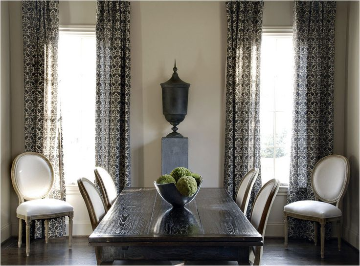Simple Black And Beige Dining Room With A Rustic Edge By Caldwell Flake