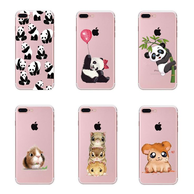 Soft tpu case Cute Panda Hamster Animals Case For iphone 6 6S 5 5s SE 7 7G Silicone Butterfly Love Hearts Pattern Back Cover. Yesterday's price: US $0.90 (0.74 EUR). Today's price: US $0.61 (0.50 EUR). Discount: 32%.