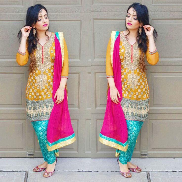 Loving the colors Sana #pakistaniweddings #bridal #bride #couture