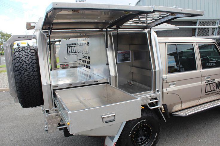 Toyota Landcruiser Aluminium Canopy Hilux Fortuner Prado