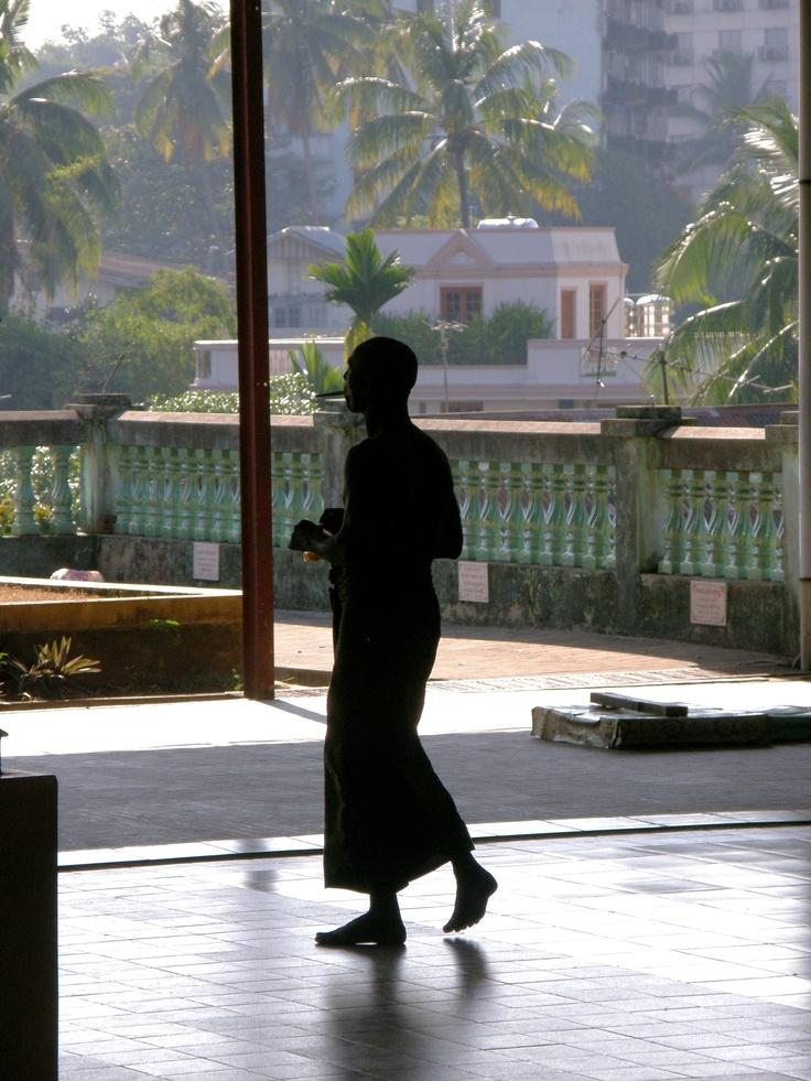 Chauk Htatt Gyee, Yangoon - Myanmar - A shadow in the light