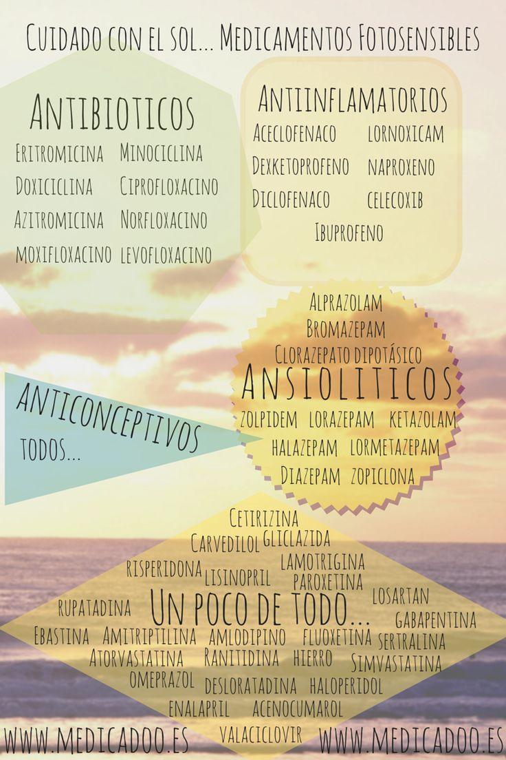 Medicamentos fotosensibilizantes