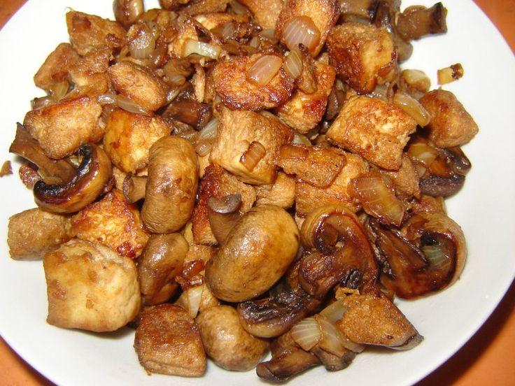 Receita de Tofu grelhado com champignon – Tia Ellen