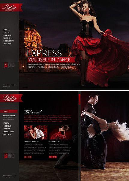 27 best Dance Website Templates images on Pinterest