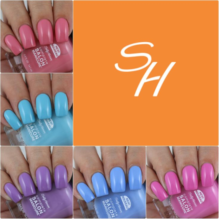 Sally Hansen Complete Salon Manicure Spring 2016 Collection - Swatches & Review by Olivia Jade Nails