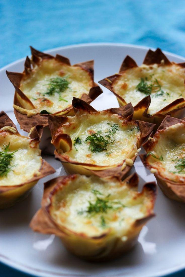 """Het lekkerste recept voor """"Mini lasagne met zalm en dille"""" vind je bij njam! Ontdek nu meer dan duizenden smakelijke njam!-recepten voor alledaags kookplezier!"""