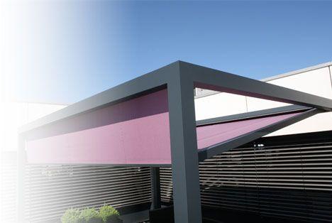 Tente solaire rectangulaire ajustable   Verano   #basileek #tente #ombre #terrasse