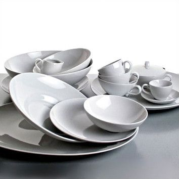 Alessi Mami Dinnerware Collection by Stefano Giovannoni