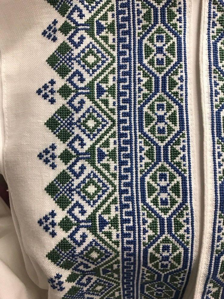 Ny Beltestakk skjorte i blå og grønn. Str er 36-40