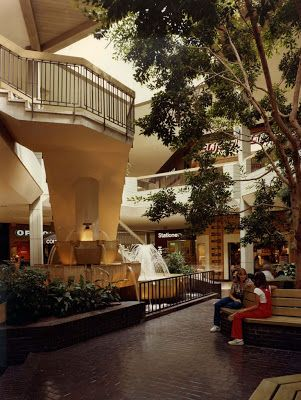 Eastland Mall Charlotte | Eastland Mall, Charlotte, North Carolina. Interior view, circa 1980 ...