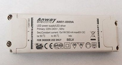 View Anway 15x1W LED driver(Power supply) 15W, max 62V AW01-0009 page,get more detailed information about Anway 15x1W LED driver(Power supply) ... Anway AW01-0009A Led Trafo 15x1W 60V DC Power Supply 350mA Transformator in Möbel & Wohnen, Beleuchtung, Lampen- & Lichtzubehör Anway. ... Name: AW01-0055/AW01-0056. Model: AW01-0055/AW01-0056. Details: 【Parameter】:350mA/700mA;6V/12V;3W/3.6W