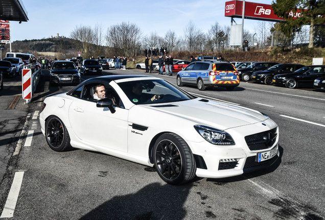 Mercedes Benz Slk 55 Amg R172 Carbonlook Edition Avec Images