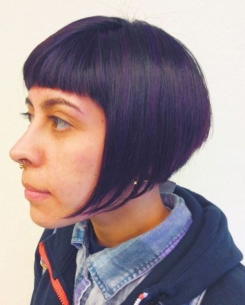 50 Classy Short Bob Haircuts and Hairstyles with Bangs ...