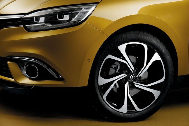 ¿Por qué el nuevo Renault Scénic solo tiene llantas de 20 pulgadas? - http://www.actualidadmotor.com/nuevo-renault-scenic-llantas-de-20-pulgadas/