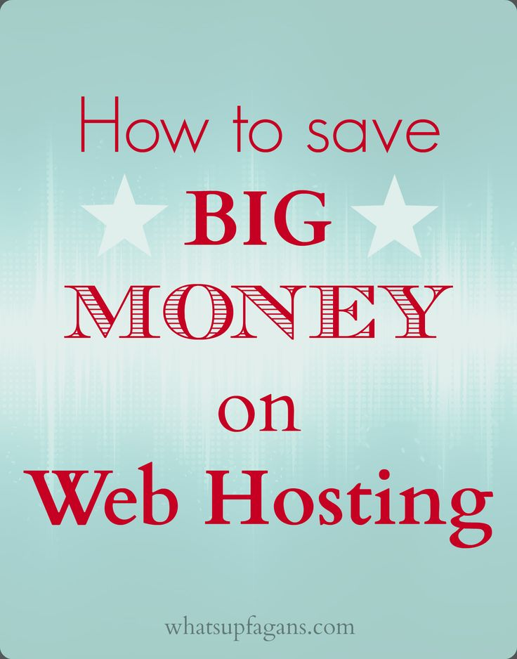 There is a simple and super easy way how to save money on web hosting costs and domain name registration costs.Shop through a third party online! So helpful when starting up a blog.