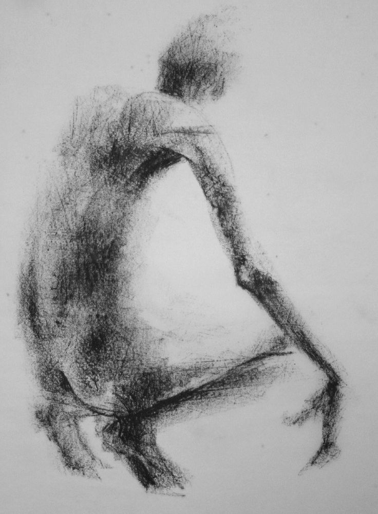 https://flic.kr/p/7Cq6Z3 | Gesture Drawing | Gesture Drawing drawn from a figure sculpture in lithographic crayon on tracing paper.  During the drawing process, the tracing paper is placed on top of a sheet of coarsely sanded Dura-Lar.  This allows the texture of the Dura-Lar to be picked up in the tracing paper.