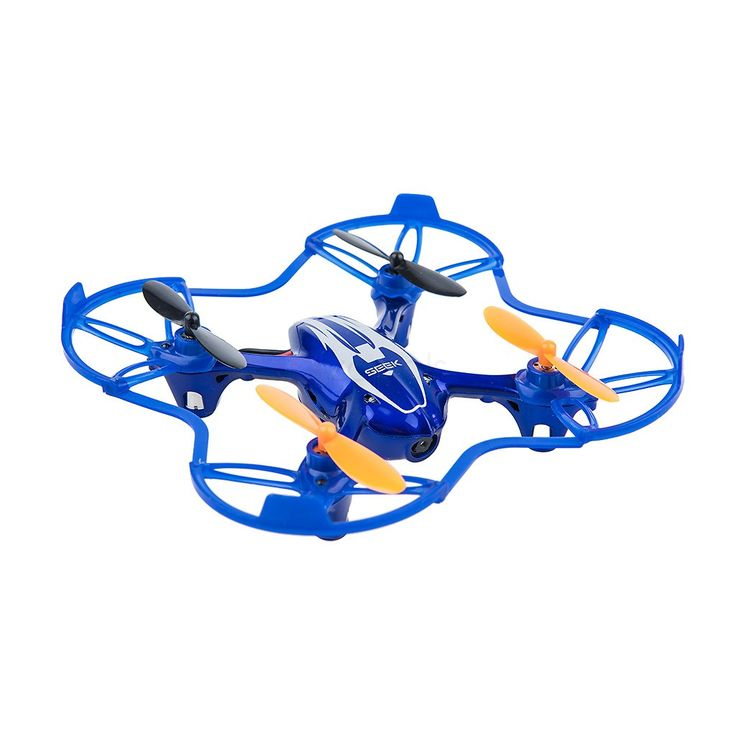 Mini RC Remote Camera Quadcopter 2.4GHz 4CH 6 Axis - Blue