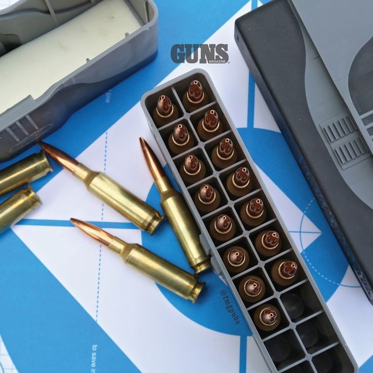 Gear Guns Need - Odds And Ends You Likely Should Consider For Your Rifle | Frankford Arsenal Ammo Vault | Click to read the rest of Anderson's suggestions now: http://gunsmagazine.com/gear-guns-need/ | #ammunition #gungear #gunsandgear #GUNSMagazine #rifle