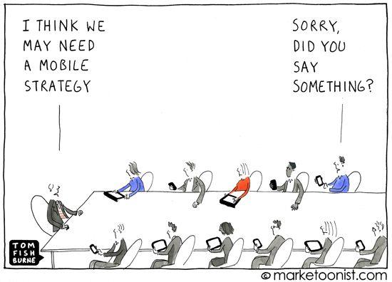 #mobile #marketing #humor