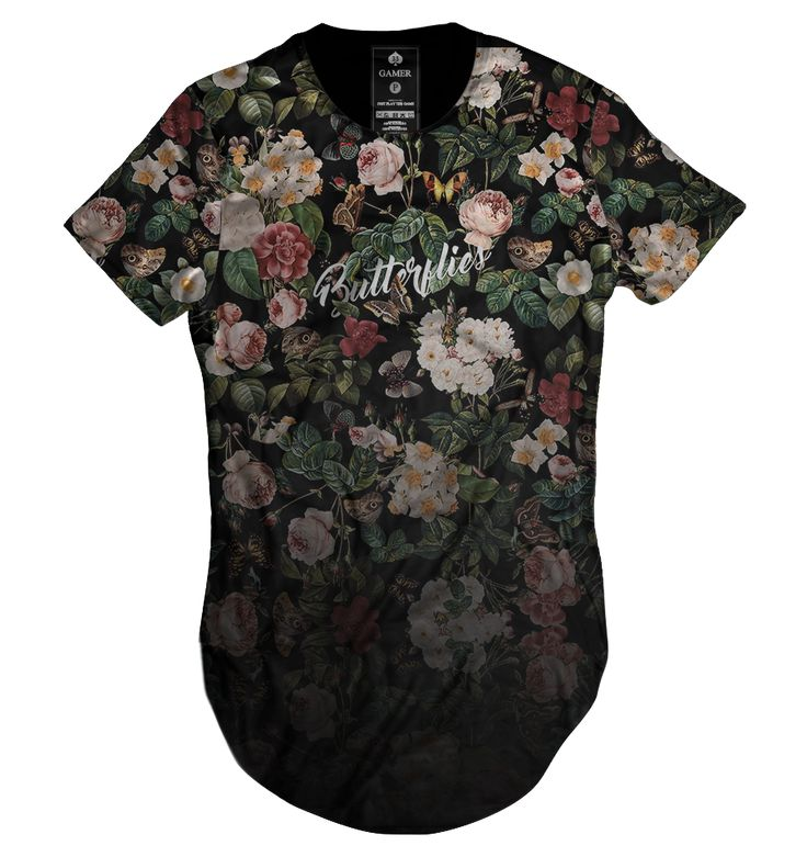 https://www.lojahdr.com.br LOJA HDR Camiseta camisa blusa longline oversized unisex feminina masculina Gamer 33 floral flores