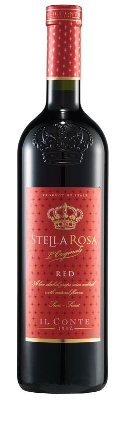 Sweet Wine Stella Rosa Red