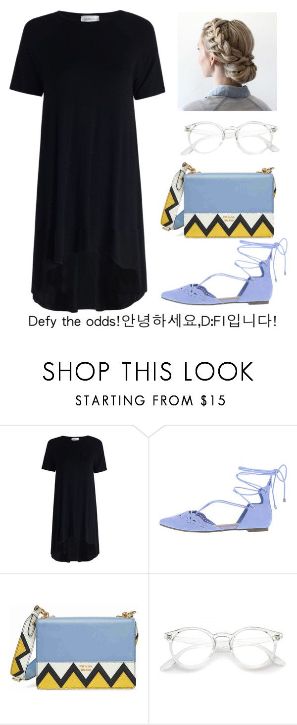 """Defy the odds"" by modestyiskey ❤ liked on Polyvore featuring Zimmermann and Prada"