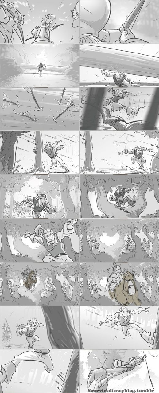 Best Storyboard Reference Images On   Animation