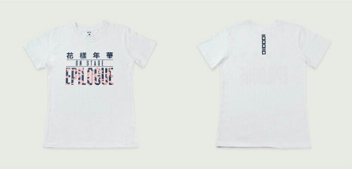 Bts Official Shop - Epilogue Tshirt