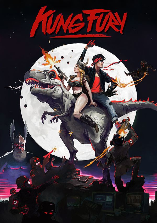In 1985, Kung Fury, the toughest martial artist cop in Miami, goes back in time to kill the worst criminal of all time - kung fuhrer Hitler.