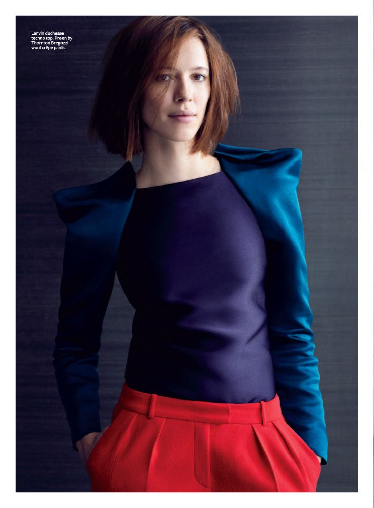 Rebecca Hall, photographed by Kate Sebbah for InStyle