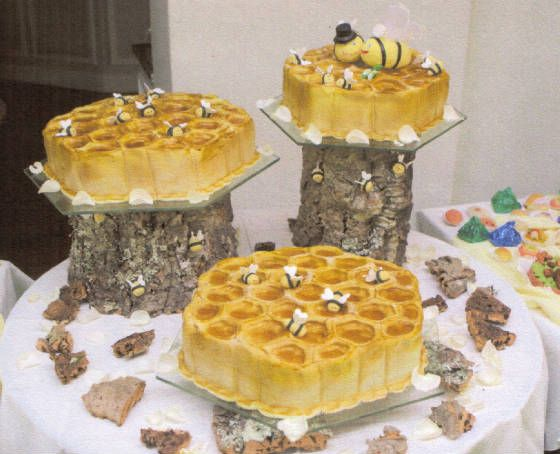 Bee honey comb cake, lovely for any occasion! Cakes by Lena, PMB, South Africa