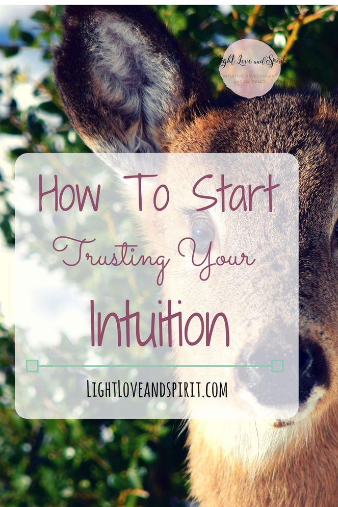 How To Know If Your Intuition Is Right. | How To Start Trusting Your Intuition